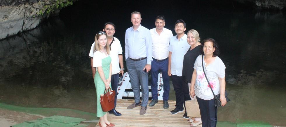 Memleket Partisi İl Yönetimiden Başkan Küçükkuru 'ya Ziyaret