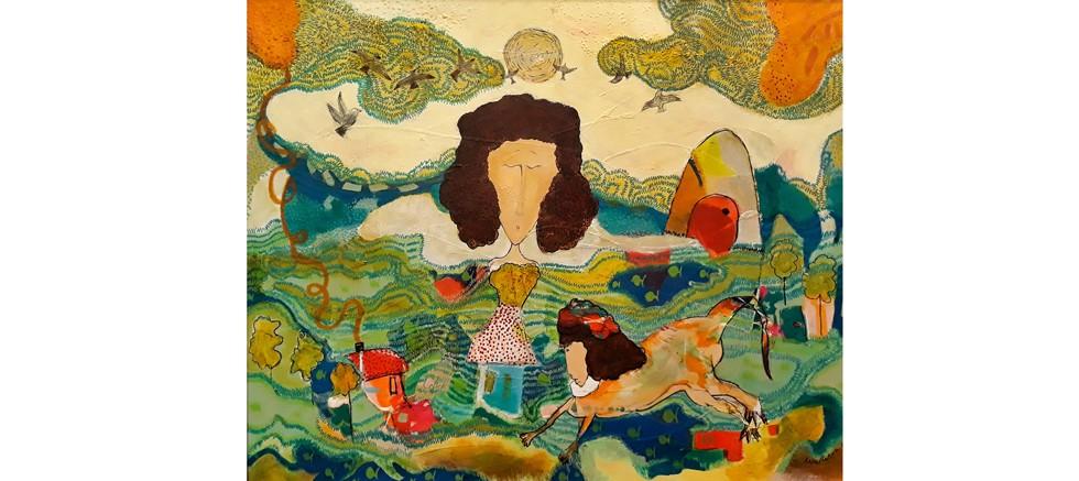 Merve Turan'ın Resim Sergisi Sanat Galerisi Orkun Ozan'da