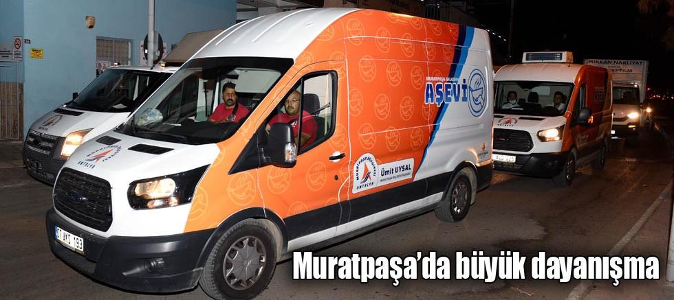 Muratpaşa'da büyük dayanışma