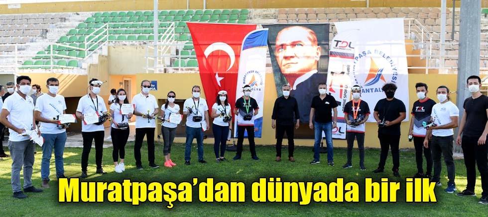Muratpaşa dron yarış takımı kuruldu