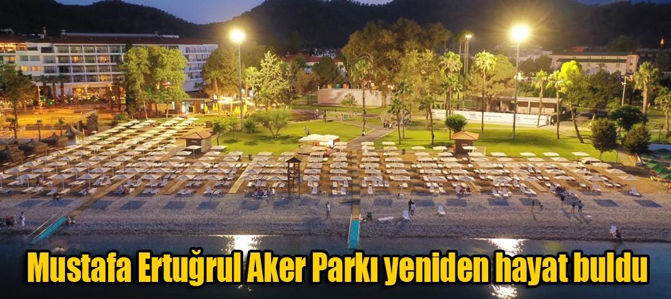 Mustafa Ertuğrul Aker Parkı yeniden hayat buldu