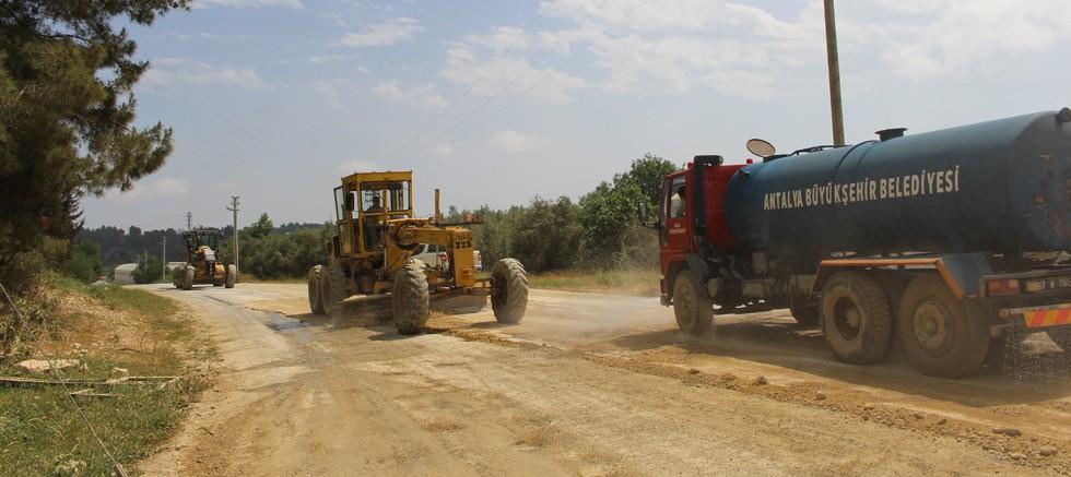 Namaras, Halitağalar, Güneycik Grup Yolu asfalta hazırlanıyor