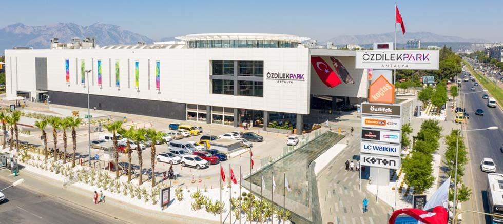 ÖzdilekPark Antalya Antalya'nın Güvenli Hizmet Belgeli İlk AVM'si!