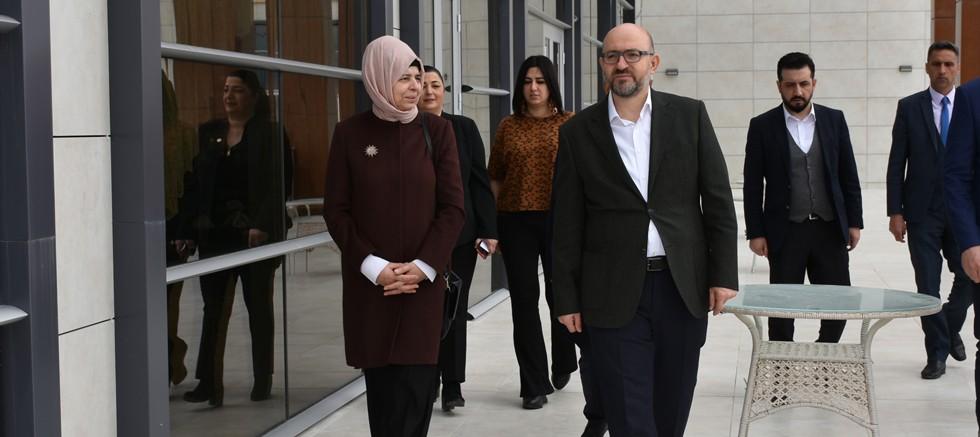Prof. Dr. Sevgi Kurtulmuş'tan MAKÜ'ye Ziyaret