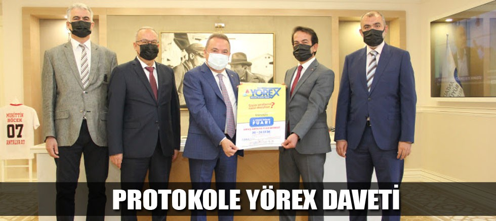 Protokole YÖREX daveti