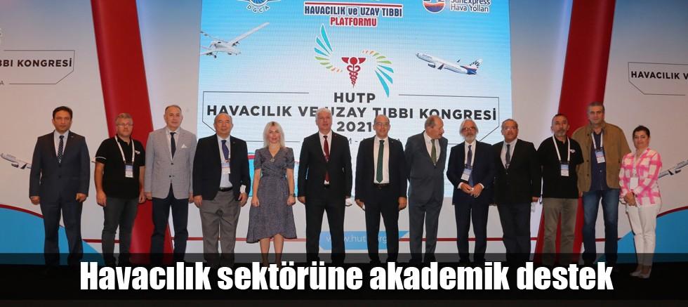 Rektör Özkan Havacılık ve Uzay Tıbbı Kongresine katıldı