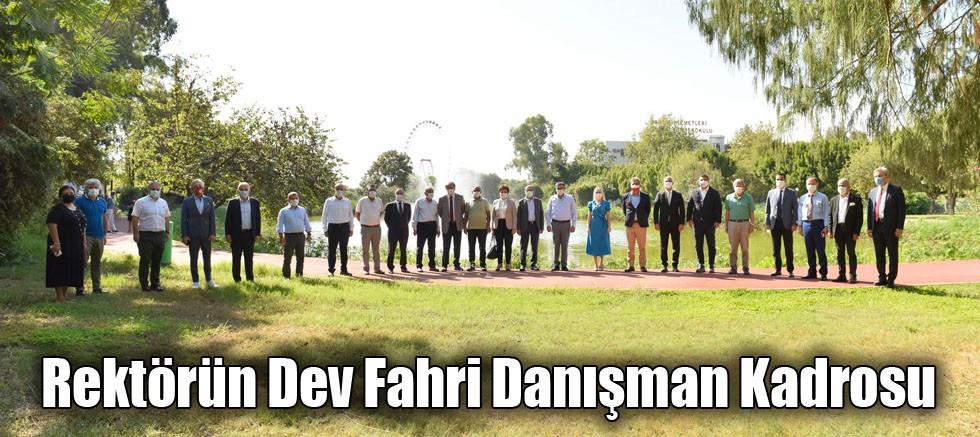 Rektörün Dev Fahri Danışman Kadrosu