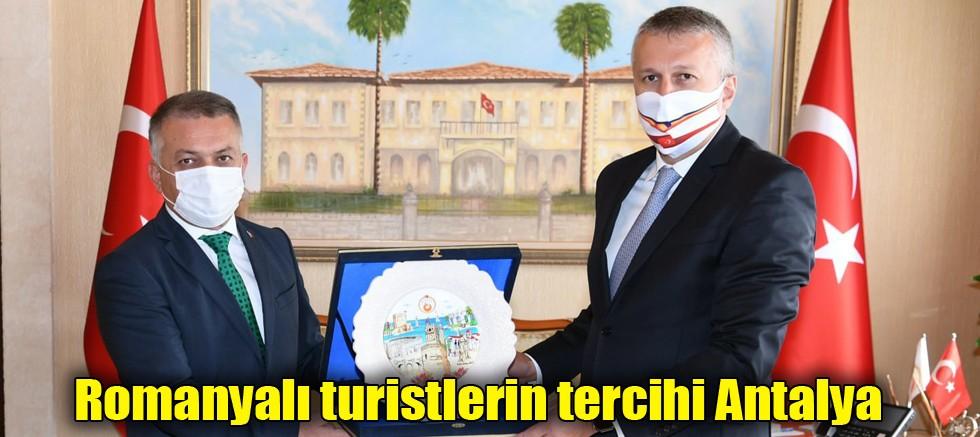 Romanyalı turistler için Antalya listenin başında...