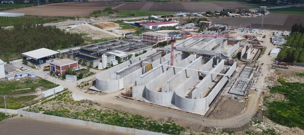 Serik 2 Arıtma Tesisi inşaatı tam gaz