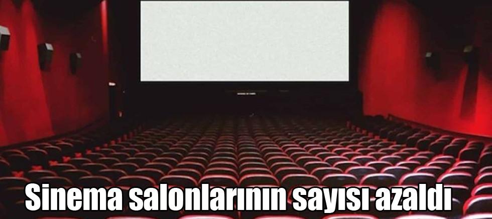 Sinema salonlarının sayısı yüzde 1,1 azaldı