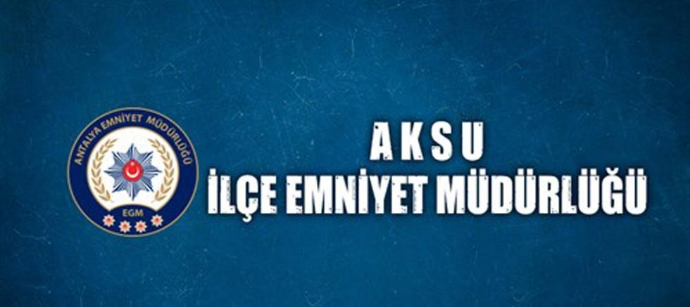 Sosyal medyadan tanışıp gaspeden şüpheliler Aksu'da yakalandı
