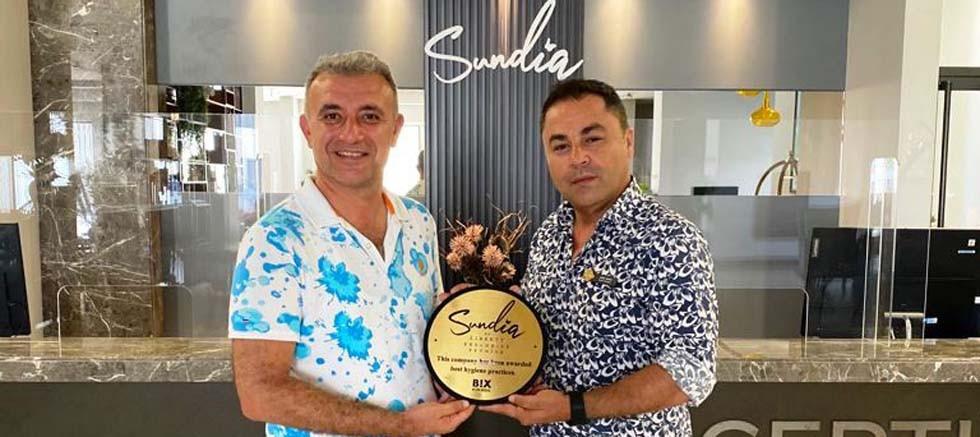 Sundia by Liberty Exclusive Fethiye Otele Güvenli Otel Ödülü