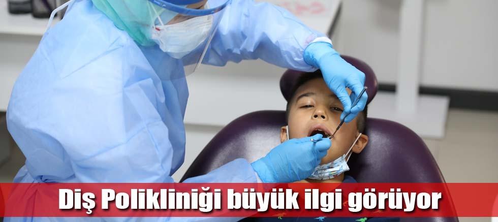 Süt dişlerinin tedavisi Büyükşehir'den