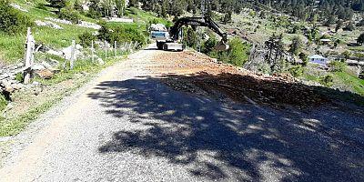 Alanya Belediyesi Gümüşkavak-Söğüt yolunu açtı