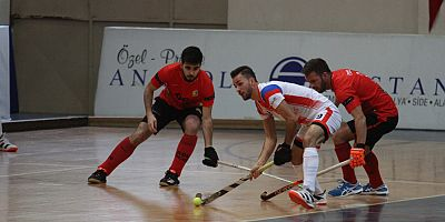 EUROHOCKEY INDOOR CLUP TROPHY BAŞLADI