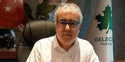 Gelecek Partisi İl  Başkanı Beytullah Demir'den Ramazan Bayramı Mesajı