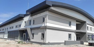 Kaş Ova Spor Salonu Projesi ilk etabı tamamlandı