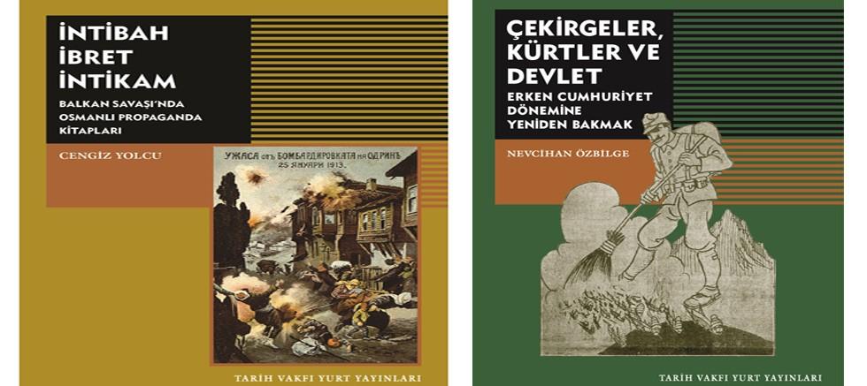 Tarih Vakfı'ndan iki yeni kitap