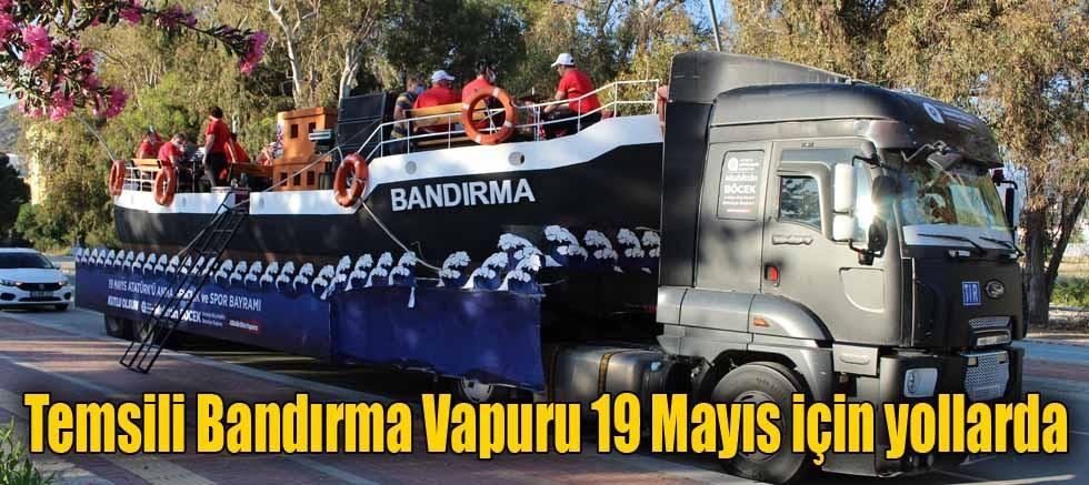 Temsili Bandırma Vapuru 19 Mayıs için yollarda
