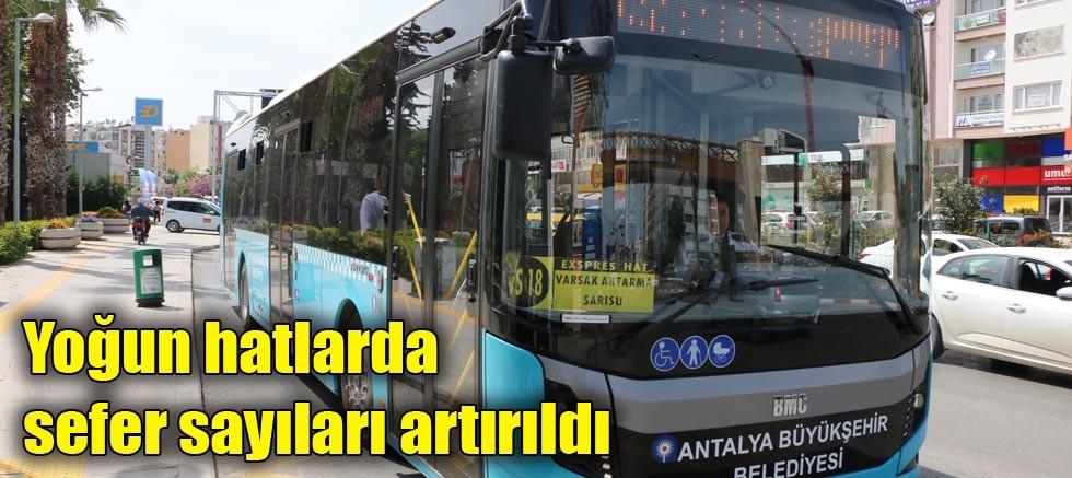 Toplu ulaşım hatlarına revize