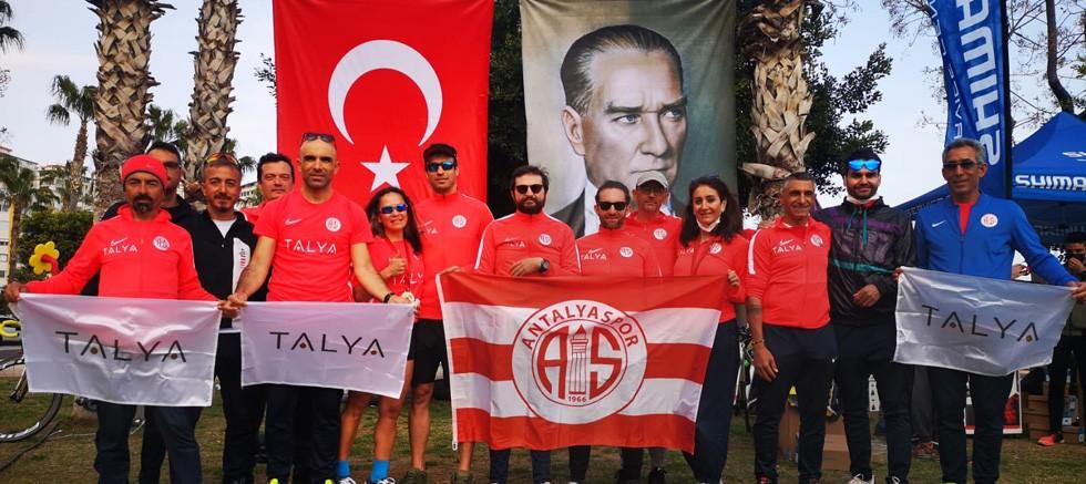 Triatlonda Antalyaspor farkı