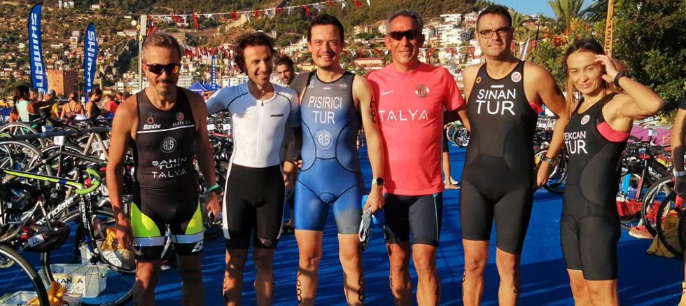 Triatlonda Final Yarışı Alanya'da gerçekleştirildi
