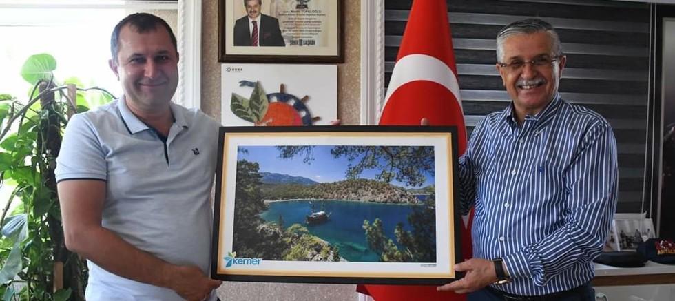Truskavest Belediye Başkan Yardımcısı Kotyk, Kemer Belediyesi'nde...