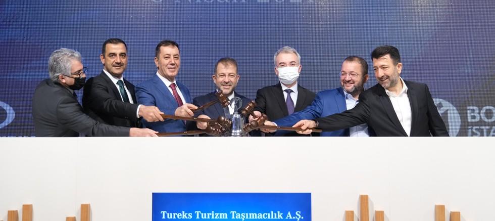 Tureks Turizm Gong Töreni yapıldı