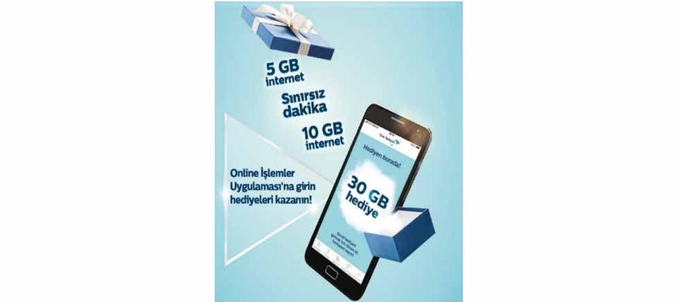 Türk Telekom'dan 417 milyon GB hediye