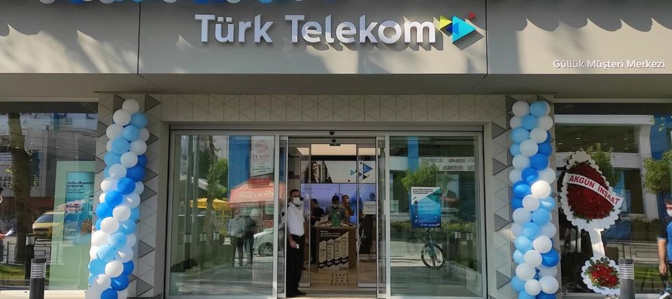 Türk Telekom'un Antalya Muratpaşa Güllük Müşteri Merkezi yenilendi