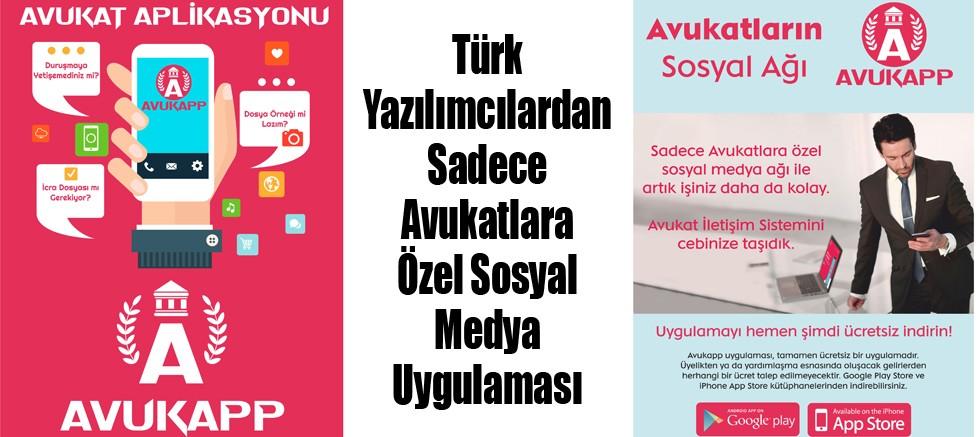 Türk Yazılımcılardan Sadece Avukatlara Özel Sosyal Medya Uygulaması