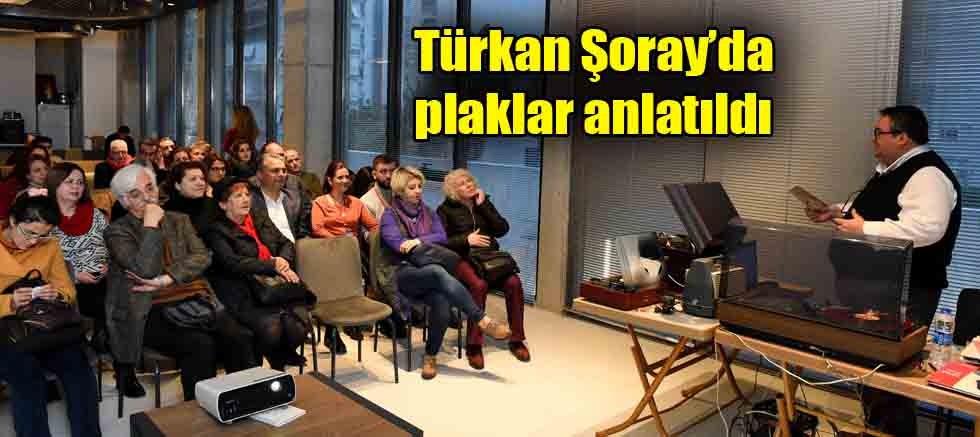 Türkan Şoray'da plaklar anlatıldı