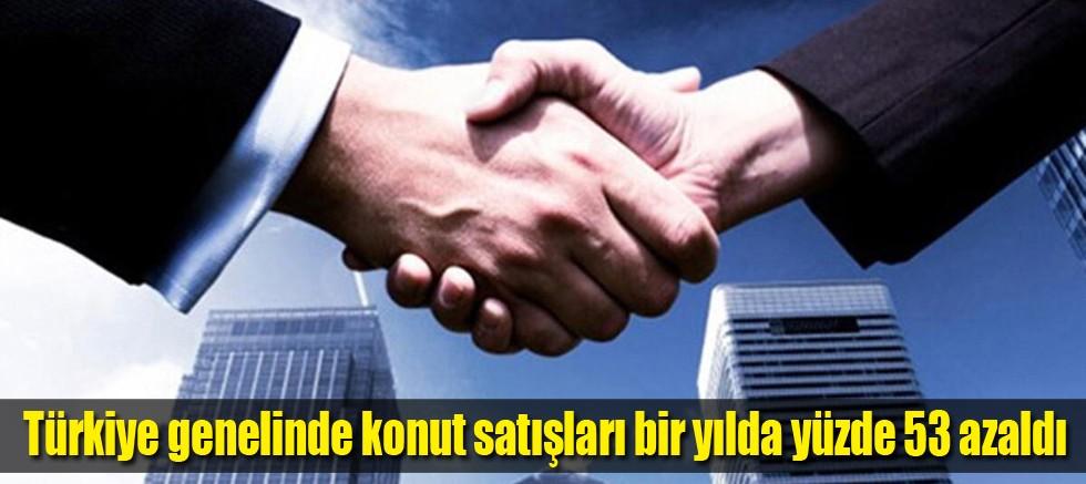 Türkiye genelinde Ağustos ayında 141 bin 400 konut satıldı