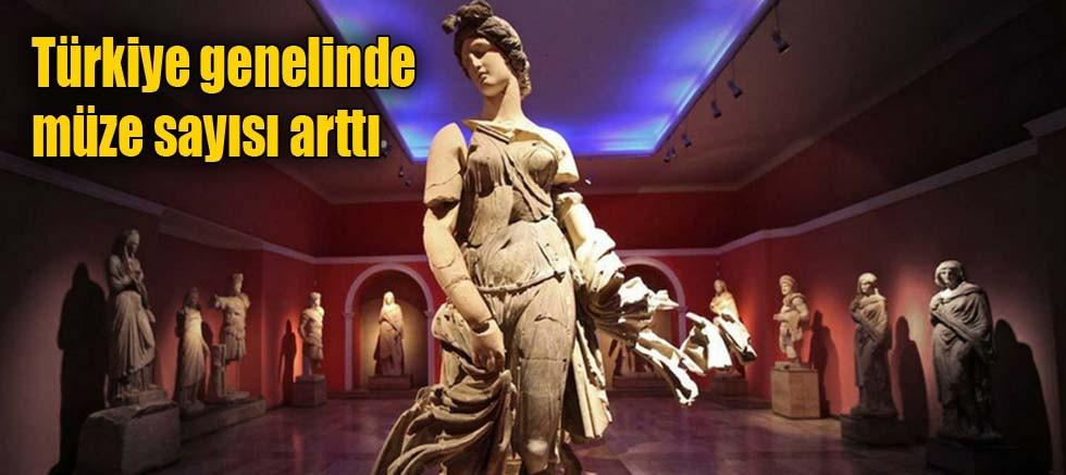 Türkiye genelinde müze sayısı arttı