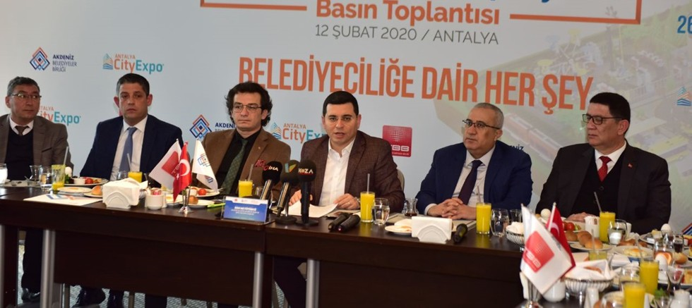 Türkiye'nin en büyük belediyecilik fuarı kapılarını aralıyor