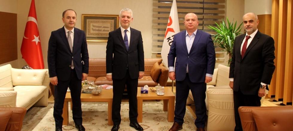 Türkiye Perakendeciler Federasyonu Rekabet Kurumu'nu ziyaret etti