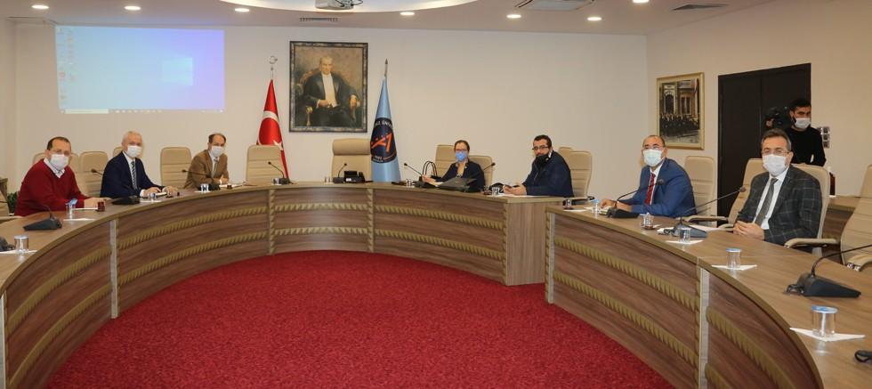 Üniversite Sanayi İş Birliği toplantılarının ilki gerçekleştirildi