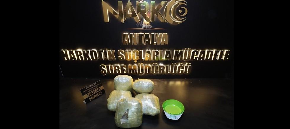Uyuşturucu madde ticareti yapan 5 kişi  yakalandı