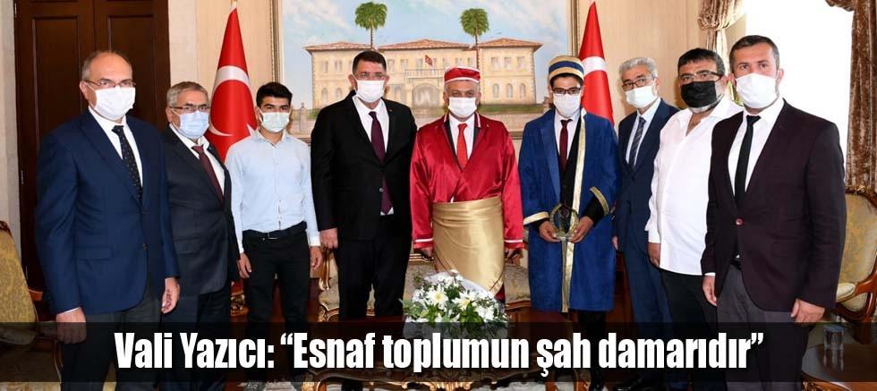 """Vali Yazıcı: """"Esnaf toplumun şah damarıdır"""""""