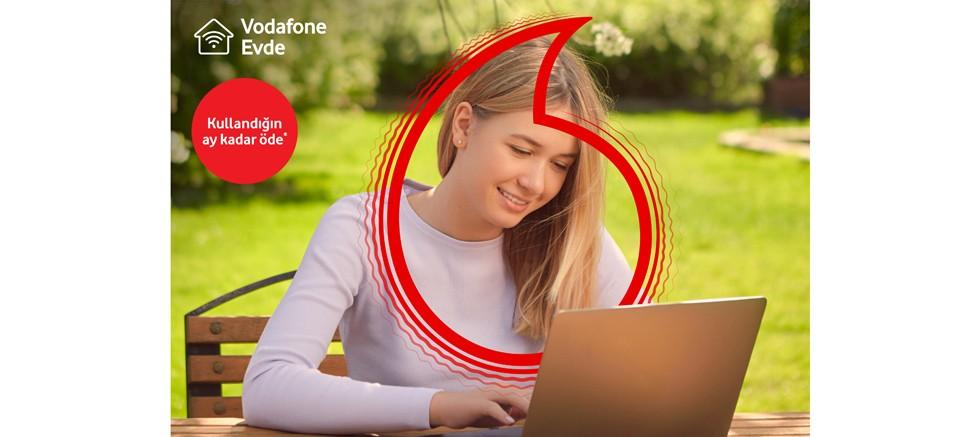 Vodafone'dan yazlıkçılara özel ev interneti kampanyası