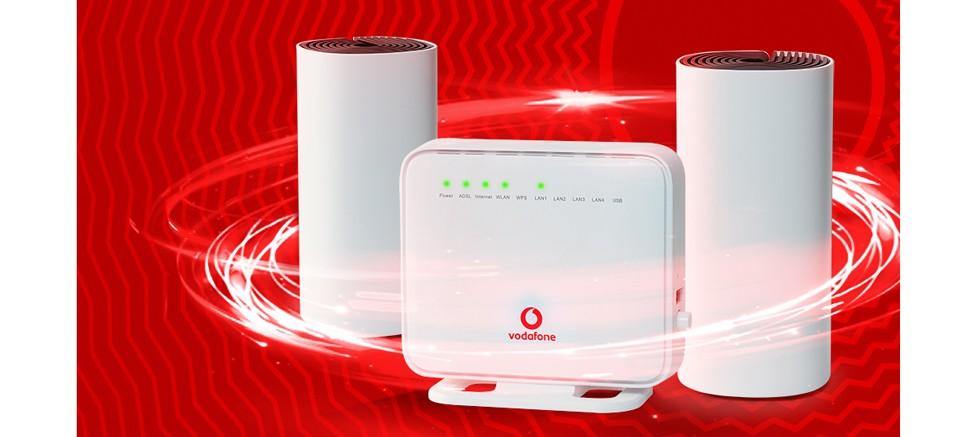 Vodafone Evde Plus* ile evin her köşesinde daha güçlü ve kesintisiz internet keyfi