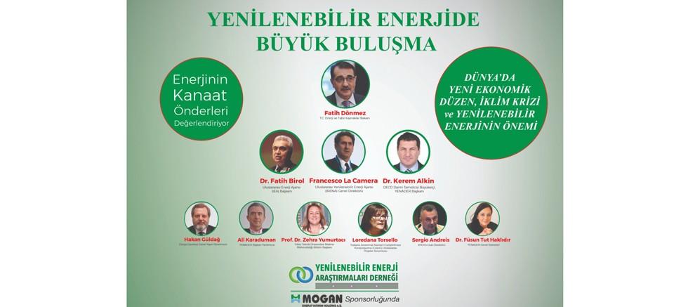 Yenilenebilir enerjide büyük buluşma